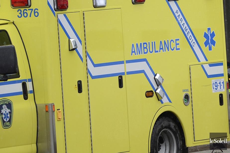 Une collision a fait trois blessés jeudi matin sur... (Photothèque Le Soleil)