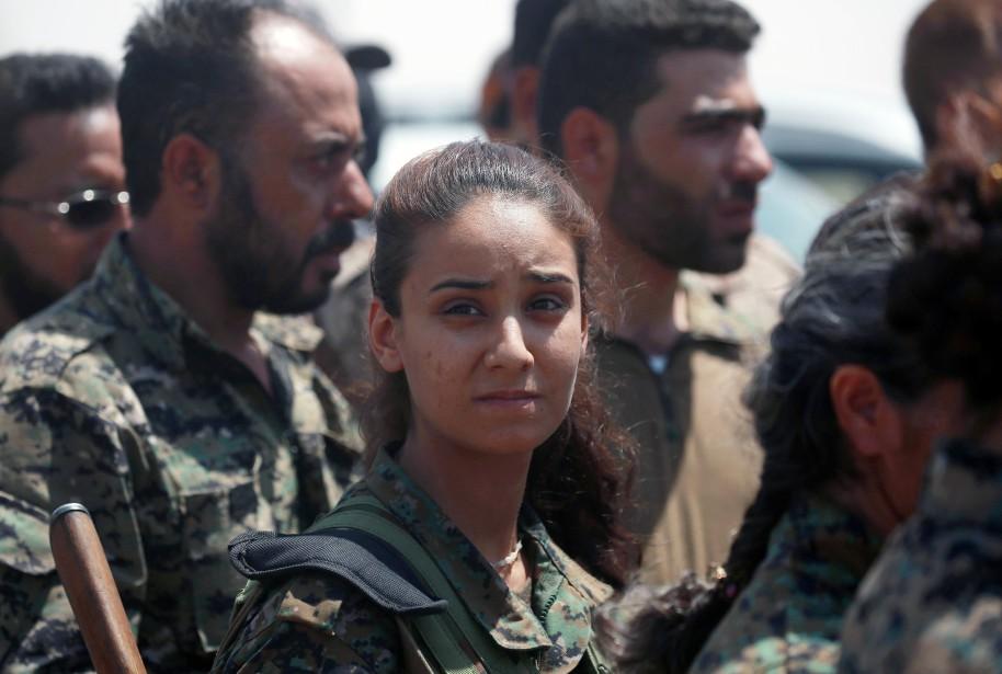 Les Forces démocratiques syriennes (FDS) viennent d'annoncer le... (AFP)