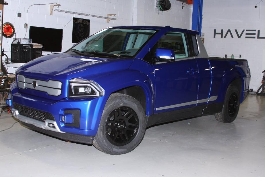 Un prototype du Bison E-Pickup... (Photo fournie par Havelaar)