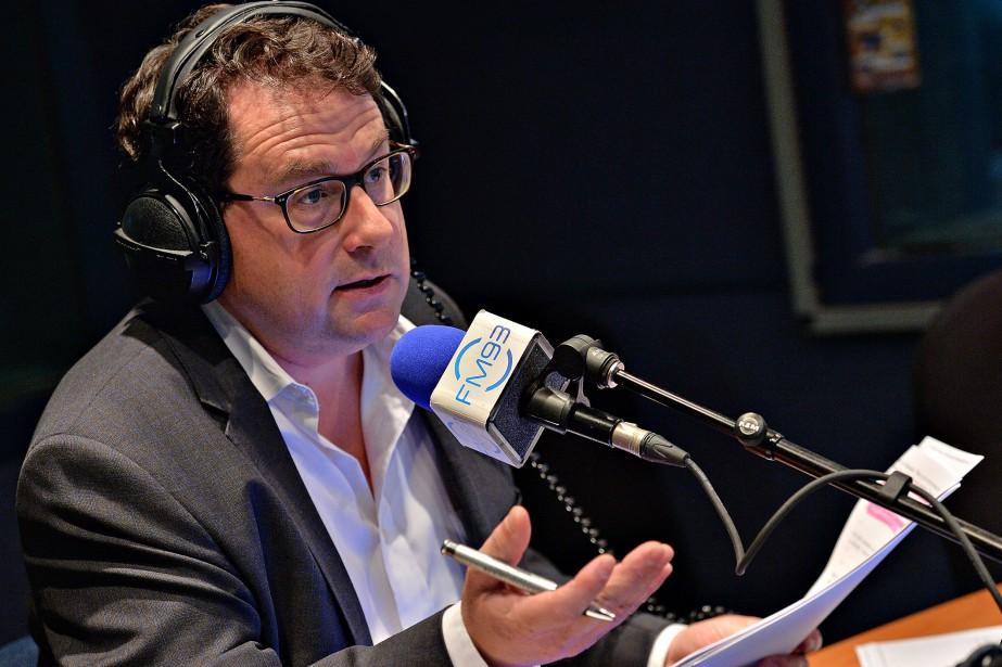 L'animateur de radio et ex-politicien Bernard Drainville remplacera... (Photo Patrice Laroche, archives Le Soleil)