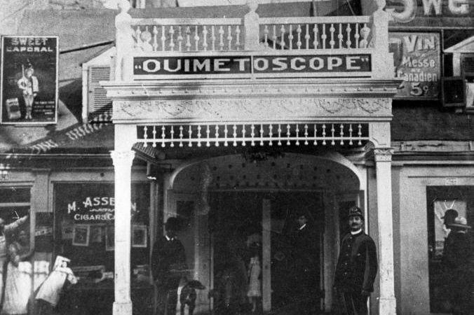 Léo-Ernest Ouimet a été un pionnier du cinéma... (PHOTO ARCHIVES LA PRESSE)