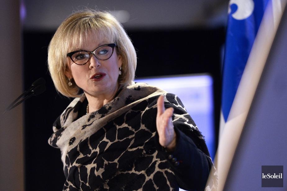 La ministre du Tourisme,Julie Boulet.... (Photo Yan Doublet, Le Soleil)