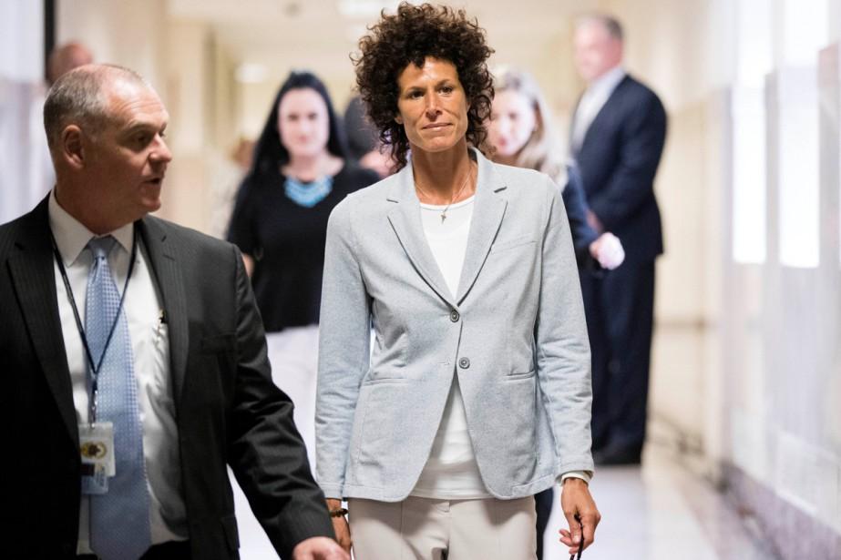 Andrea Constand, l'une des présumées victimes de Bill... (PHOTO REUTERS)