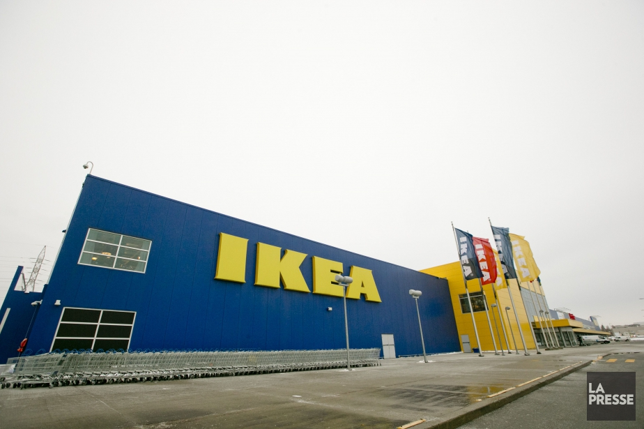 La division canadienne d'Ikea planifie 24 magasins d'ici... (PHOTO DAVID BOILY, ARCHIVES LA PRESSE)