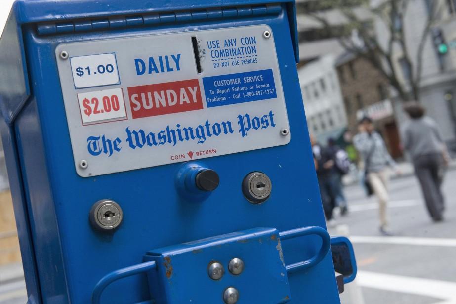 L'équipe duWashington Postaffectée à la présidence est forte... (ARCHIVES REUTERS)