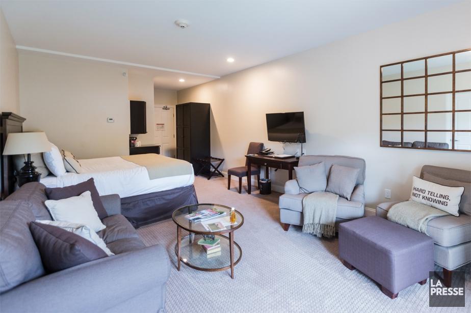 Les chambres sont spacieuses et, pour la plupart,... (PHOTO EDOUARD PLANTE-FRÉCHETTE, LA PRESSE)