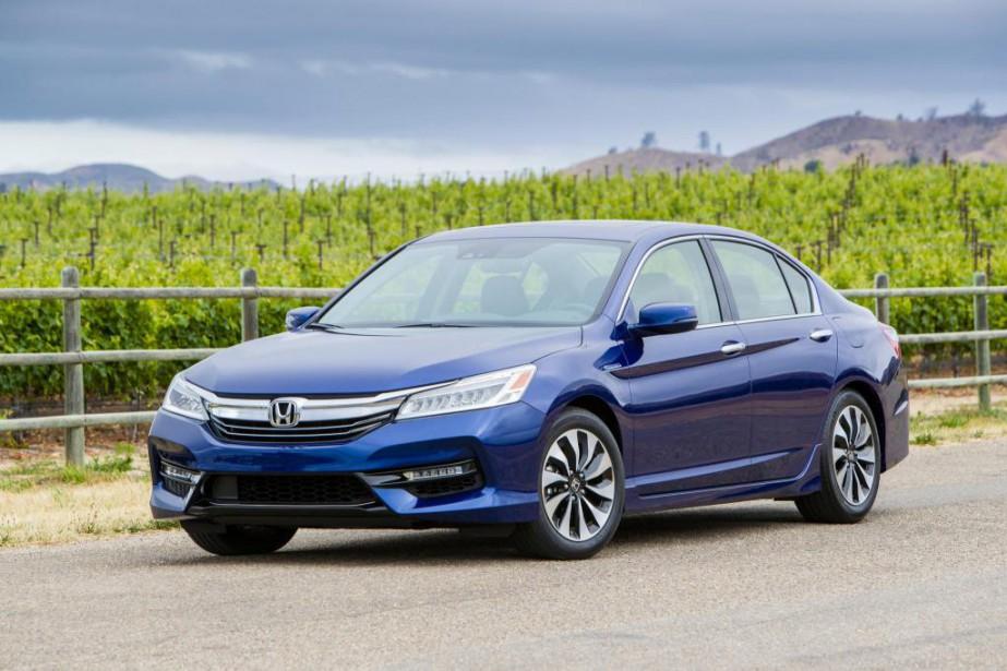 Une Honda Accord hybride 2017... (PHOTO FOURNIE PAR LE CONSTRUCTEUR)