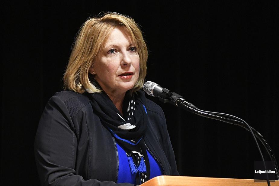La ministre des Affaires internationales Christine St-Pierre.... (Dominique Gobeil, archives Le Quotidien)