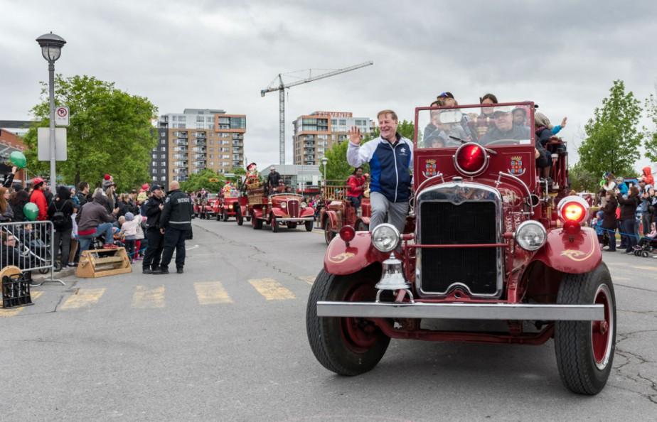 La Grande Fête des pompiers a accueilli plus... (Photo fournie par Laval)