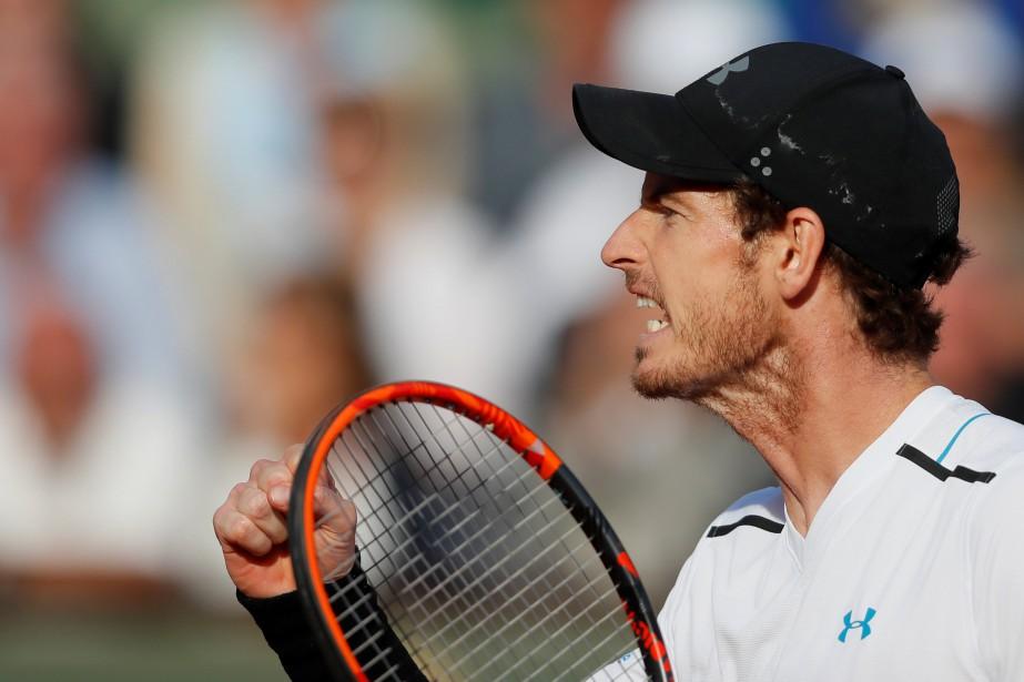 Le numéro 1 mondial Andy Murray a dominé... (REUTERS)