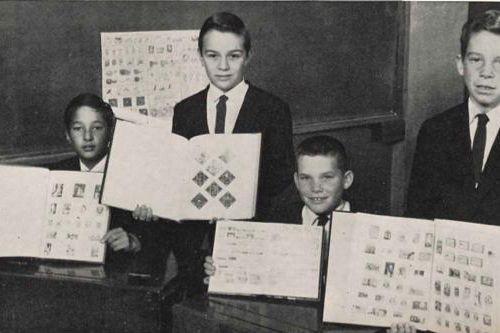 Grant Mathiesen (deuxième à partir de la gauche)...