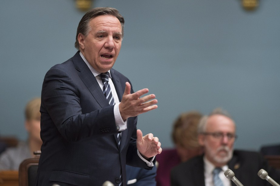 Le chef de la CAQ, François Legault... (PHOTO ARCHIVES LA PRESSE CANADIENNE)