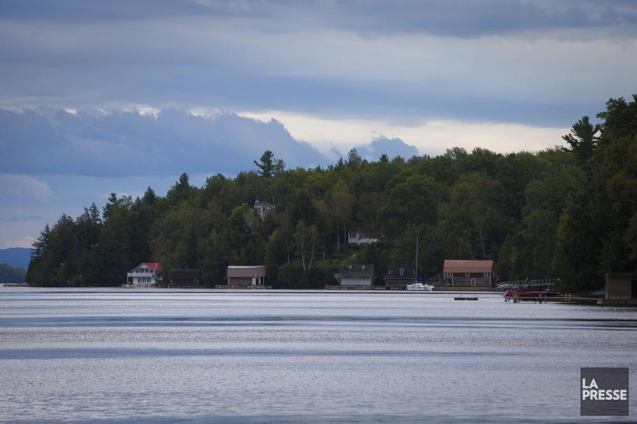 Le lac Memphrémagog... (PHOTO ANDRÉ PICHETTE, ARCHIVES LA PRESSE)