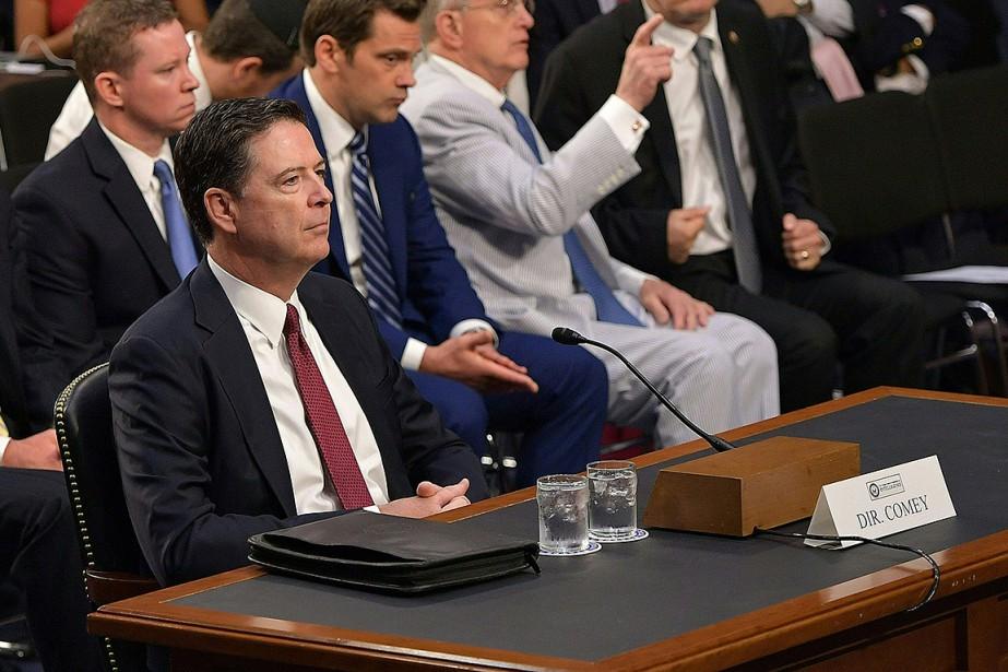 James Comey, l'ancien directeur du FBI, a fait... (Photo Mandel NGAN, AFP)