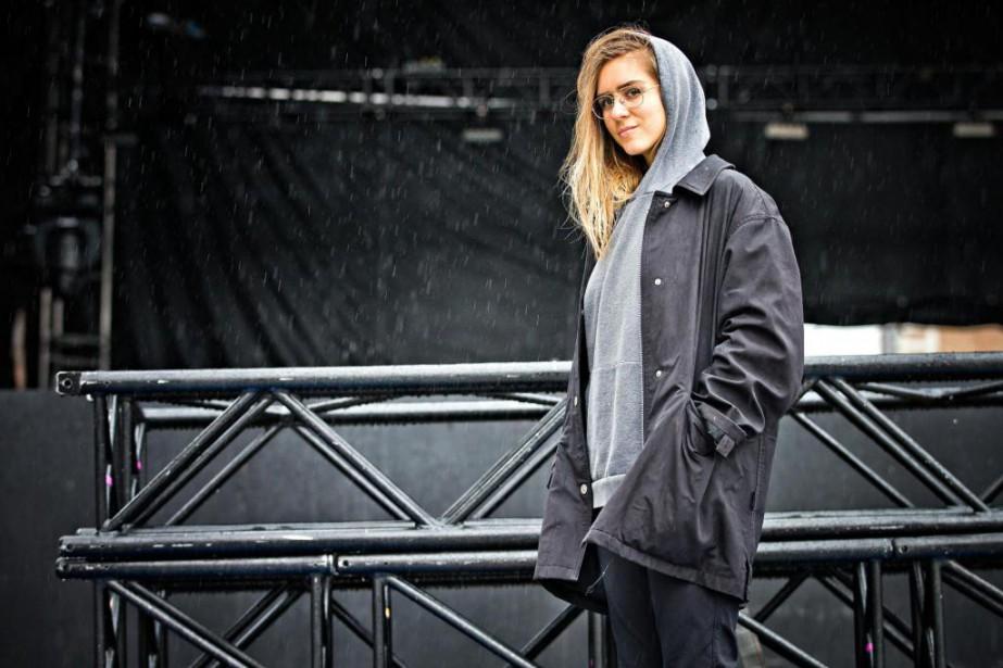 Lydia Képinskimontera sur scène avant Pierre Kwenders, Dumas... (Photo Patrick Sanfaçon, La Presse)