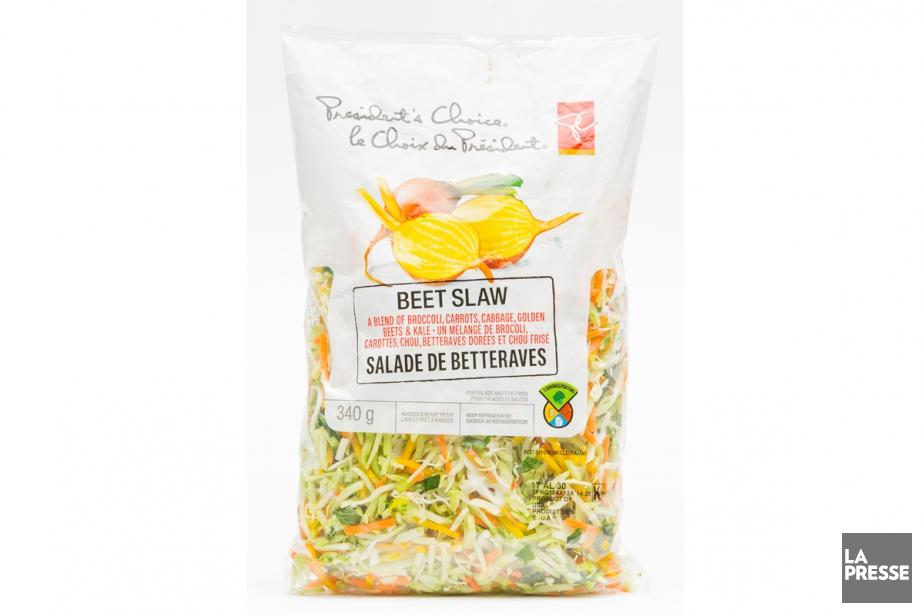 Salade de betteraves LeChoix du Président, 3,29$ pour340g... (PHOTO EDOUARD PLANTE-FRÉCHETTE, LA PRESSE)