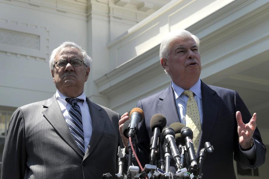La loi Dodd-Frank (baptisée d'après les ex-sénateurs démocrates... (ARCHIVES AP)