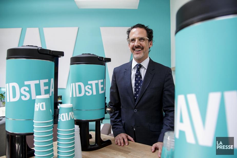 Le nouveau chef de la direction de DavidsTea... (PHOTO ALAIN ROBERGE, LA PRESSE)