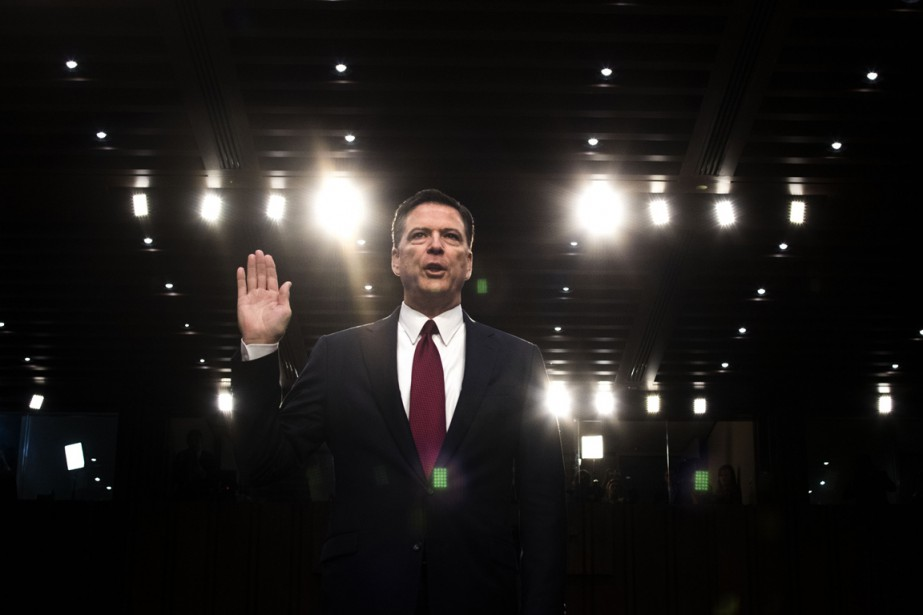 L'ancien directeur du FBI James Comey a prêté... (Photo Doug Mills, The New York Times)