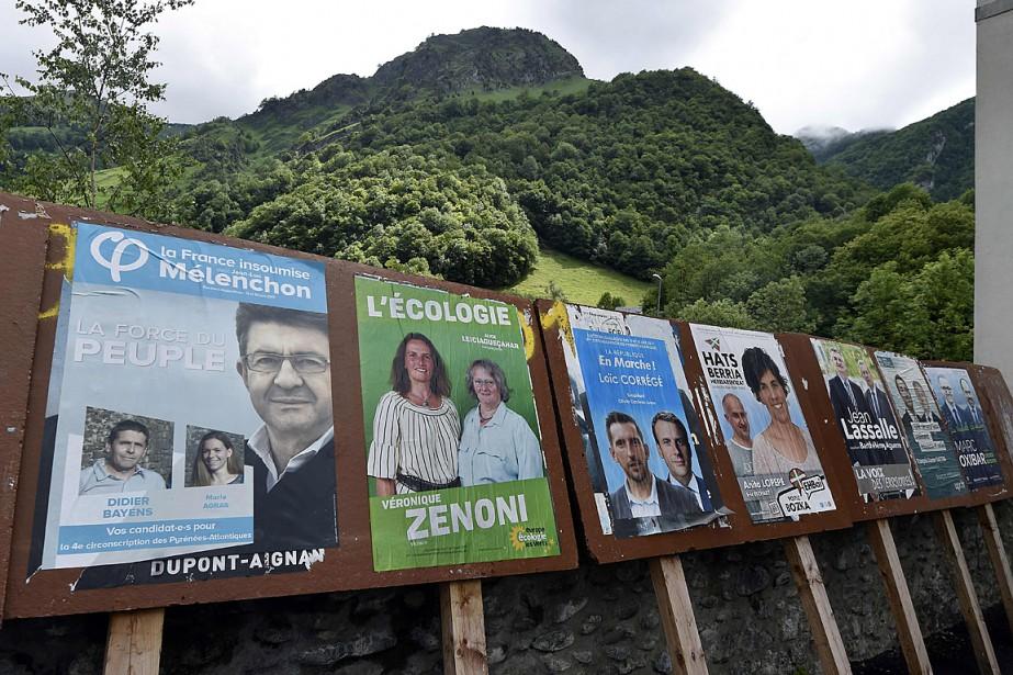 Le renouvellement de l'Assemblée est assuré avec près... (PHOTO PASCAL PAVANI, AGENCE FRANCE-PRESSE)