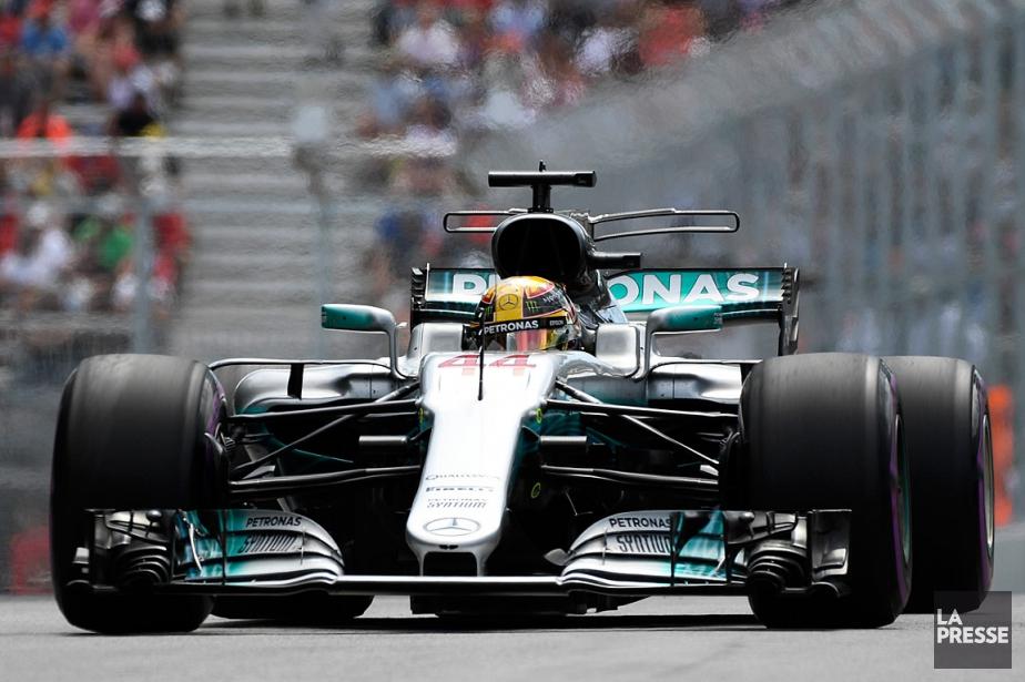 Lewis Hamilton... (PHOTO BERNARD BRAULT, LA PRESSE)