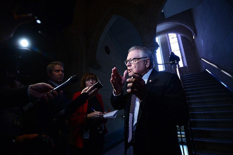 Le ministre de la Sécurité publique, Ralph Goodale.... (Photo Sean Kilpatrick, archives La Presse canadienne)