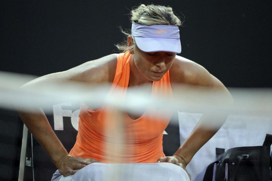 Maria Sharapova... (Photo Andrew Medichini, AP)