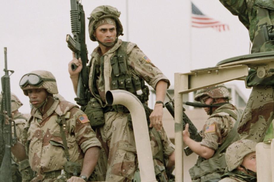 Des militaires américains.... (Photo archives Associated Press)