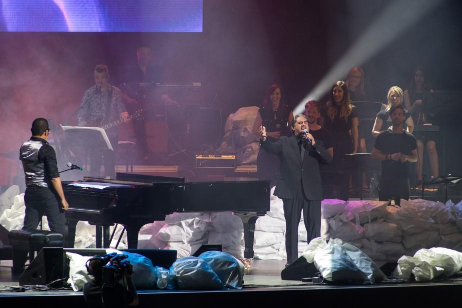 Grégory Charles et Marc Hervieux ont interprété Everything's gonna be all right et  Nessum Dorma de l'opéra Turandot, avec une fougue et une prestance électrisantes. | 11 juin 2017