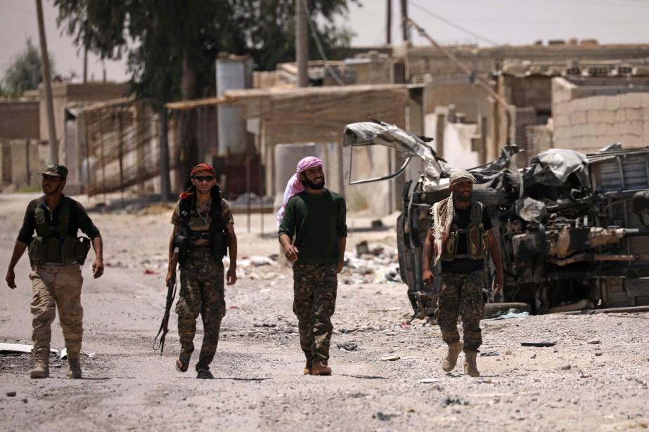 Les Forces démocratiques syriennes (FDS), une alliance de... (REUTERS)