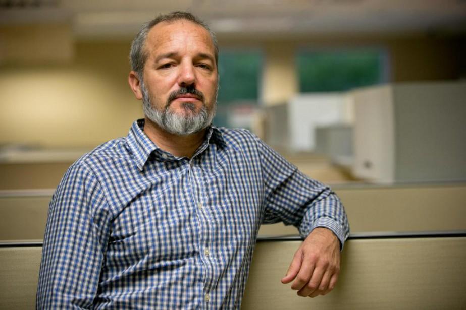Martin Valiquette, lieutenant-détective au Bureau d'analyse et de... (Photo David Boily, La Presse)