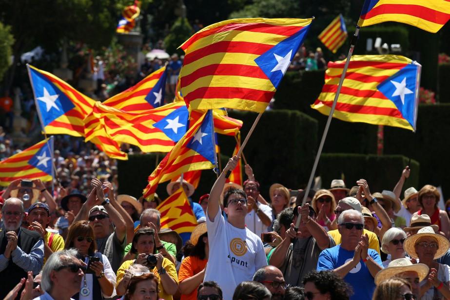 La Catalogne est en proie à une fièvre... (REUTERS)