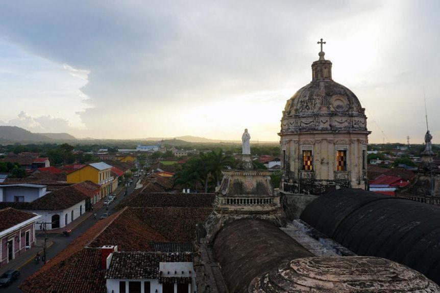 La cathédrale Iglesia de la Merced constitue le... (PHOTO AUDREY RUEL-MANSEAU, LA PRESSE)