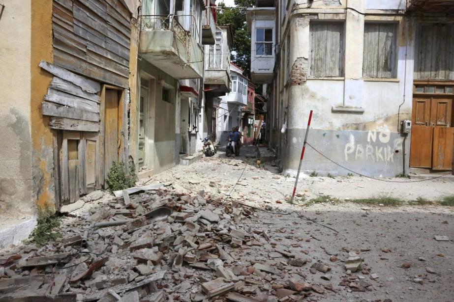 La Turquie et la Grèce sont situées sur... (Photo AP)