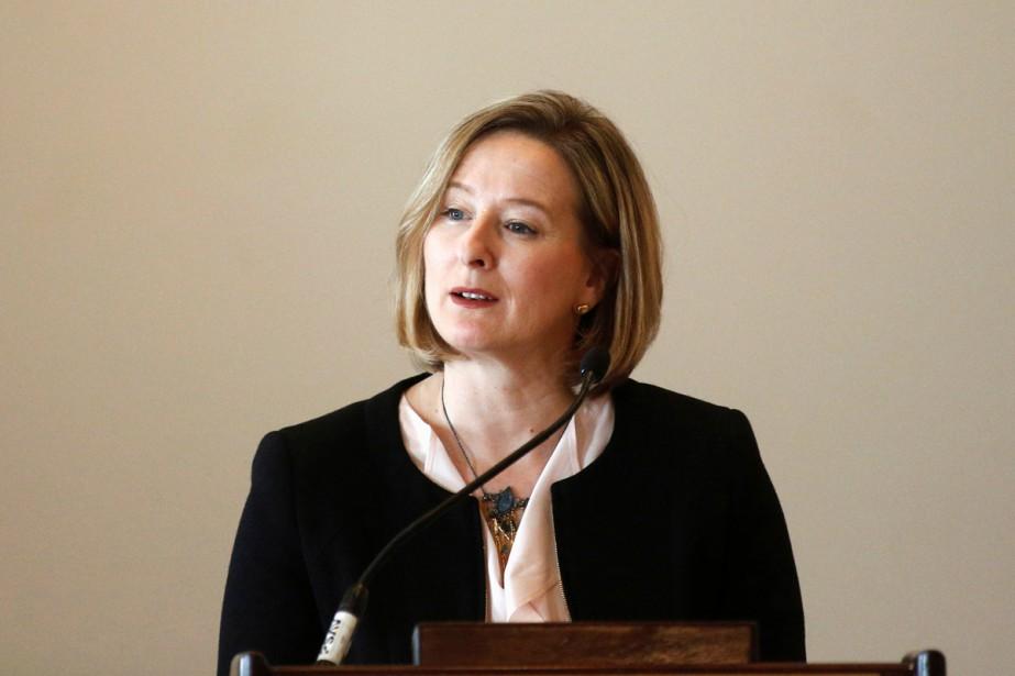 Dans un discours prononcé lundi, Carolyn Wilkins, première... (PHOTO ARCHIVES REUTERS)
