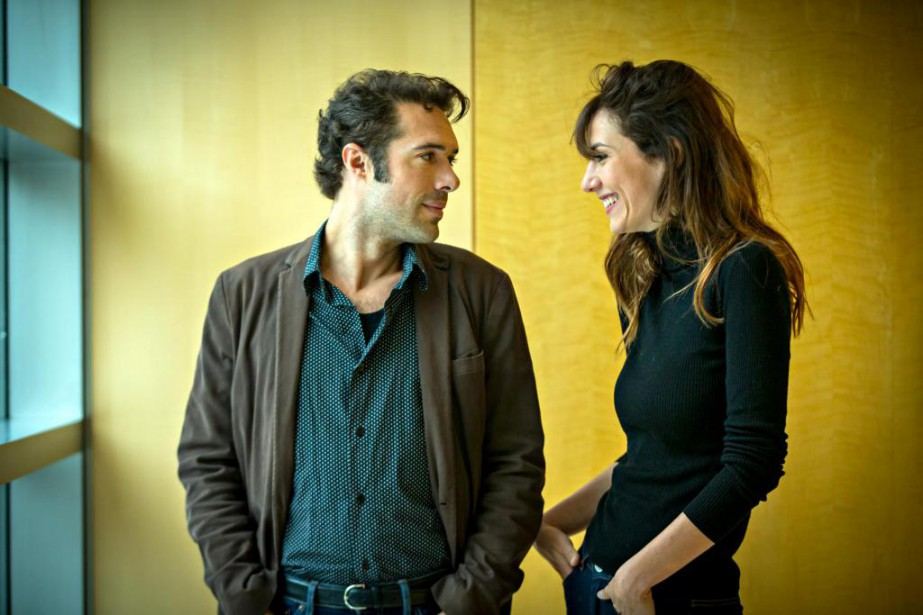 Nicolas Bedos etDoria Tillier, qui forment un couple,... (Photo Olivier Jean, La Presse)