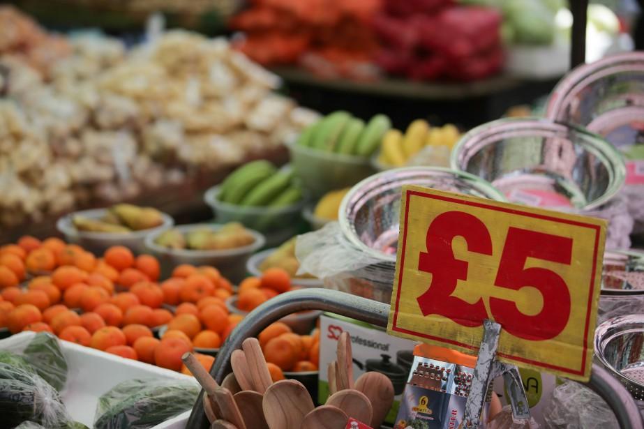 En mai, la hausse des prix à la... (AFP)