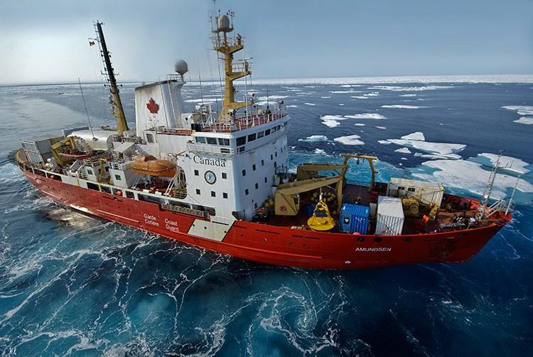 L'Amundsen est doté de 22 laboratoires.... (Archives, GroupeCNW/Articnet)