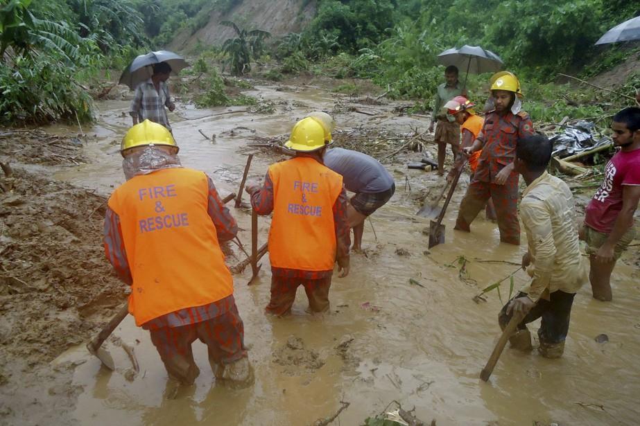 Nombre des victimes viennent de communautés tribales du... (Photo Associated Press)