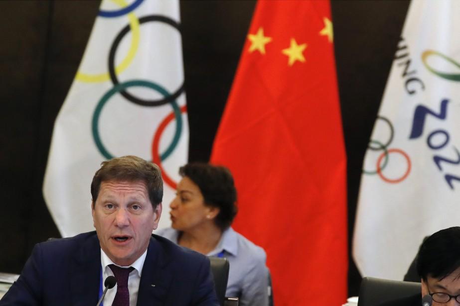 Le président du comité de coordination du CIO,... (Photo Andy Wong, AP)