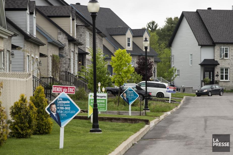 Au Québec, les mensualités hypothécaires moyennes sont passées... (PHOTO HUGO-SÉBASTIEN AUBERT, ARCHIVES LA PRESSE)