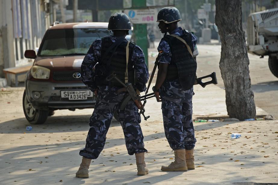 Un kamikaze a fait... (Photo Mohamed Abdiwahab, archives Agence France-Presse)