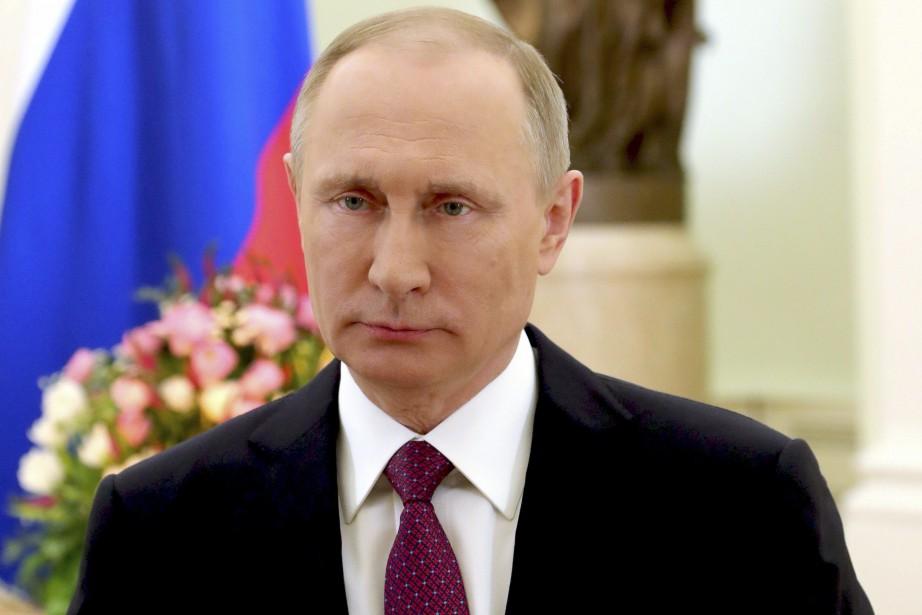 Le président russe Vladimir Poutine.... (Photo Mikhail Klimentyev, archives AP)