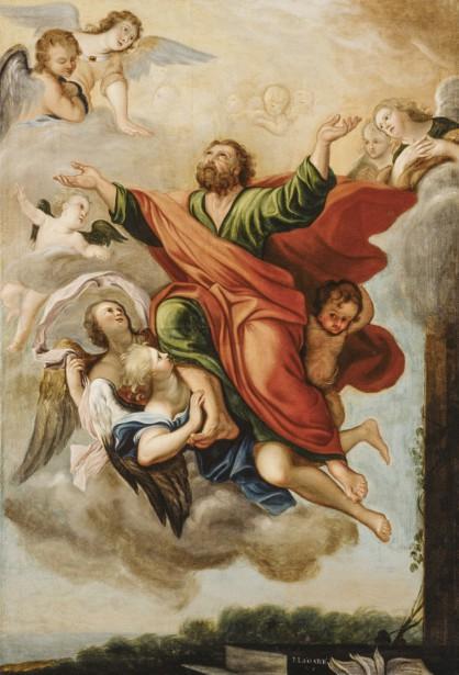 L'Apothéose de Saint Paul ou Le Ravissement de Saint Paul, 1822,  | 14 juin 2017