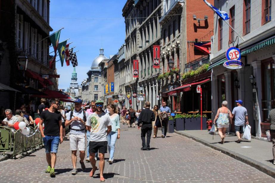 Le taux d'occupation des hôtels du centre-ville a... (Photo Edouard Plante-Fréchette, La Presse)