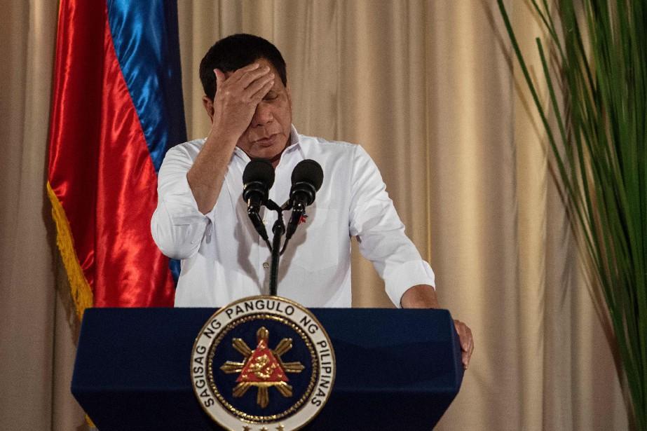 Rodrigo Duterte... (PHOTO NOEL CELIS, ARCHIVES AGENCE FRANCE-PRESSE)