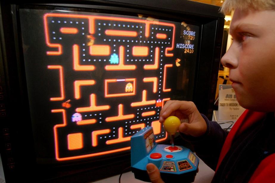 Le jeu Ms.Pac-Mana été conçu dans les années80.... (AP)