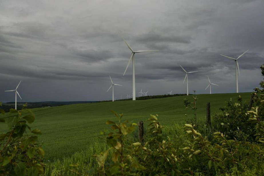 Le développement de l'énergie éolienne est très payant... (Photo Hugo-Sébastien Aubert, Archives La Presse)