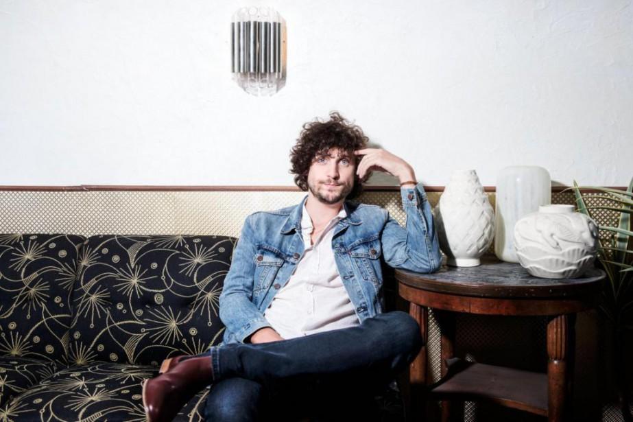 Le chanteur Barbagallo... (Photo Eytan Jan, fournie par Audiogram)