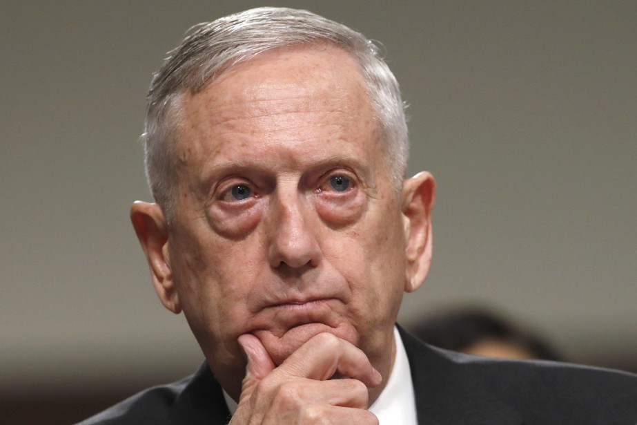 Jim Mattis... (Photo Jacquelyn Martin, Associated Press)